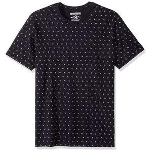 True Religion Men's All Over Monogram Tee T-Shirt